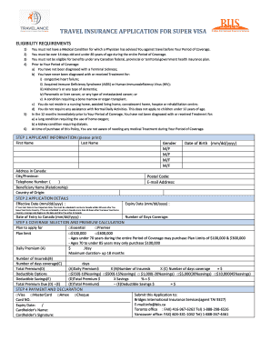 super visa application form pdf