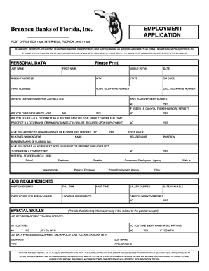 bank of america application status job