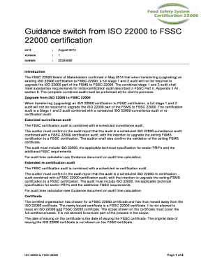 iso 22000 and fssc 22000