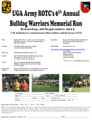 A 5K fundraiser to commemorate fallen Soldiers and ... - Runners Fit
