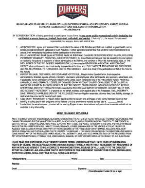 official waiver and release young elementary school young ipsd