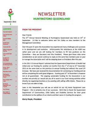 Simple general partnership agreement forms and templates fillable 2013 spring edition hq newsletter huntingtons queensland huntingtonsqld org efmp quick reference guide sciox Image collections