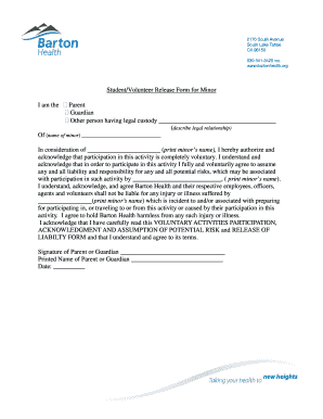 Fillable print release form template samples to complete online in print minors name educationbartonhealthorg pronofoot35fo Gallery