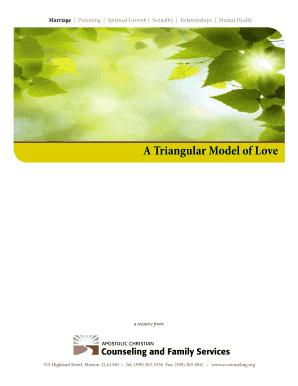 Triangular model of love