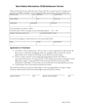 Fillable Online Health Insurance Claim Form - Mood ...