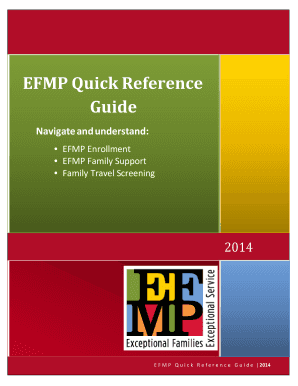 Fillable online 59mdw af efmp quick reference guide military fill online sciox Image collections