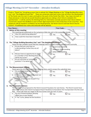 website feedback form examples - Printable Forms & Document