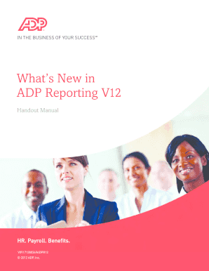 adp workforce now tutorials - Edit Online, Fill Out
