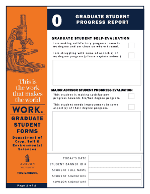 student progress report template free