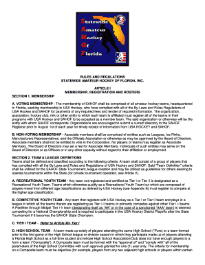 USA Hockey Mobile Rulebook