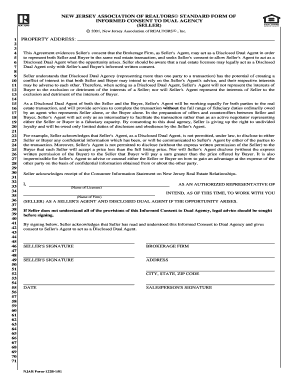 Bill Of Sale Form New Jersey Association Of Realtors Standard Form