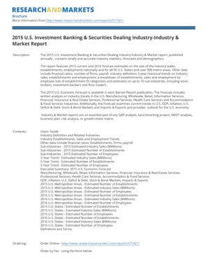 2013 U.S. Investment Banking & Securities Dealing Industry-Capital