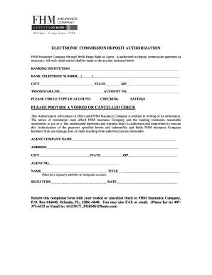 direct deposit authorization form wells fargo - Edit Online, Fill