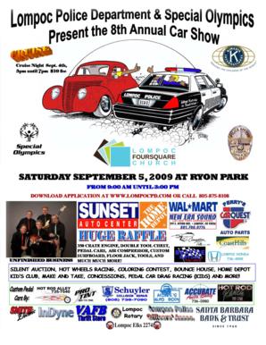 Fillable Online CAR SHOW Page Pub The City Of Lompoc Fax - Lompoc car show