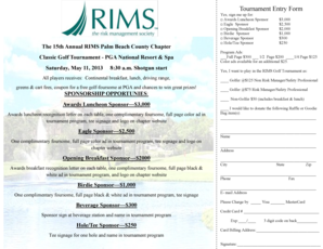The 15th Annual RIMS Palm Beach County Chapter
