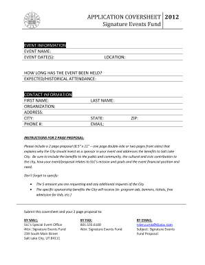 Printable sports event sponsorship proposal - Edit, Fill Out
