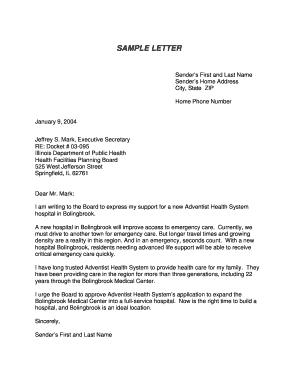 Sample Cover Letter For Unit Secretary In A Hospital