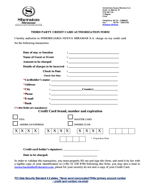 Hotel Form - Fill Online, Printable, Fillable, Blank | PDFfiller