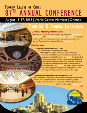 87th AnnuAl ConferenCe - Florida League of Cities