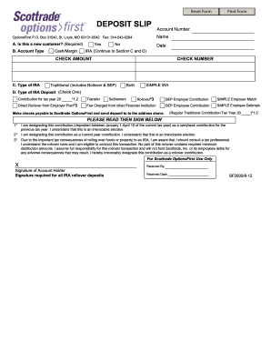 Scottrade options agreement form