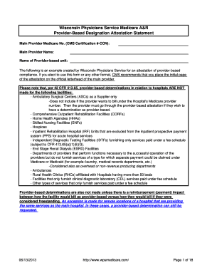Fillable Online Attestation Form - WPS Medicare Fax Email Print ...