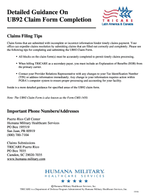 Humana Medical Claim Form Templates - Fillable & Printable Samples ...