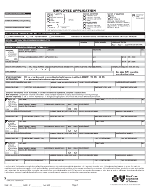 employee health insurance waiver form template - Edit, Fill