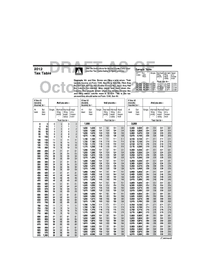 Printables Eic Worksheet 2012 fillable online 2012 instruction 1040 eic table and tax fill online