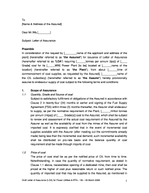 Letter Format For Bank Guarantee. Bank Guarantee Format For Issue of LOA  The Singareni Collieries format bank guarantee letter Templates Fillable Printable