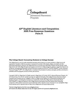 ap english language and composition essays 2005 Ap english language & composition--ms dawson (11th grade) reading assignment for summer 2017: salvage the bones (jesmyn ward, 2011) and the glass castle (jeannette walls, 2005) summer essay rubric: ap english language & composition · english 3: ap english language and composition, summer.