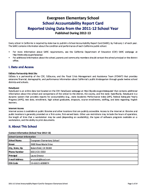 29 Printable Report Card Template Forms Fillable Samples In Pdf