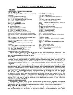 Deliverance Form - Fill Online, Printable, Fillable, Blank   PDFfiller