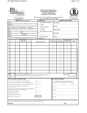 jsa form Jsa Form - Fill Online, Printable, Fillable, Blank | PDFfiller