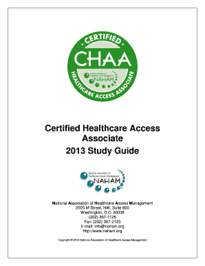 CHAA EXAM STUDY QUESTIONS Flashcards by ProProfs