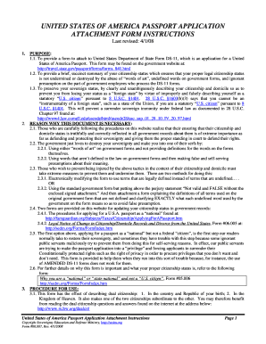 Department Of State Form DS82 U.S. Passport Renewal