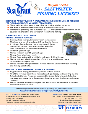 FISHING LICENSE Fill Online, Printable, Fillable, Blank