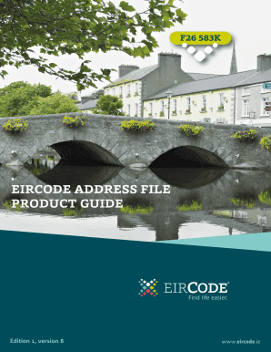 Eircode Report Template