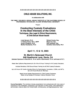 Printable Child Custody Agreement Without Court Template