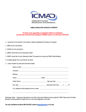 Download the form - ICMAD