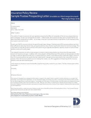 sample letter declining health insurance - Fill Out Online