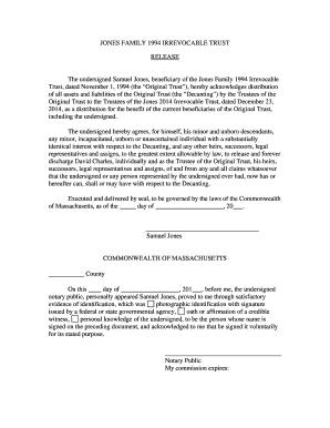 irrevocable trust form sample templates fillable printable samples for pdf word pdffiller. Black Bedroom Furniture Sets. Home Design Ideas