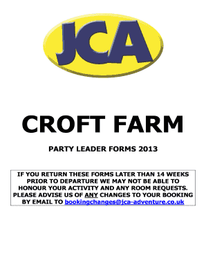 CROFT FARM - bjcab-badventurebbcobbukb - jca-adventure co
