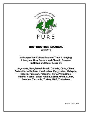 Fillable Online www2 phri PURE Instruction Manual - PHRI - www2 phri