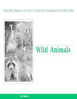 Wild Animals - National Good Agricultural Practices (GAPs) Program - gaps cornell