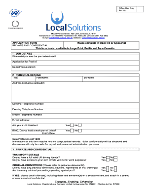 Guidance Notes Job Description Job Specification - localsolutions org