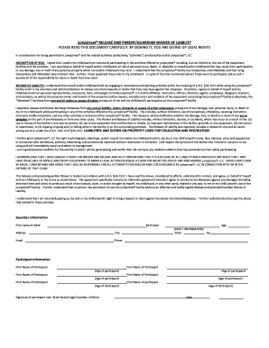 jumpstreet waiver Jump Street Permission Form - Fill Online, Printable, Fillable ...