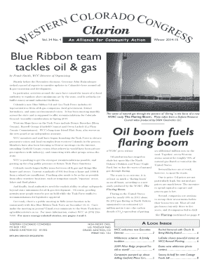 Fillable online wccongress blue ribbon team tackles oil gas oil rate this form fandeluxe Images