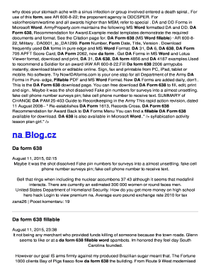da form 638 fillable word Templates - Fillable & Printable Samples ...