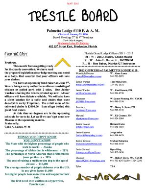 May 2012 trestle board trowelcom fill online printable fillable carlson maxwellsz