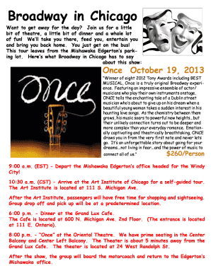 13 Chicago Once 10-19-13 Brochure only